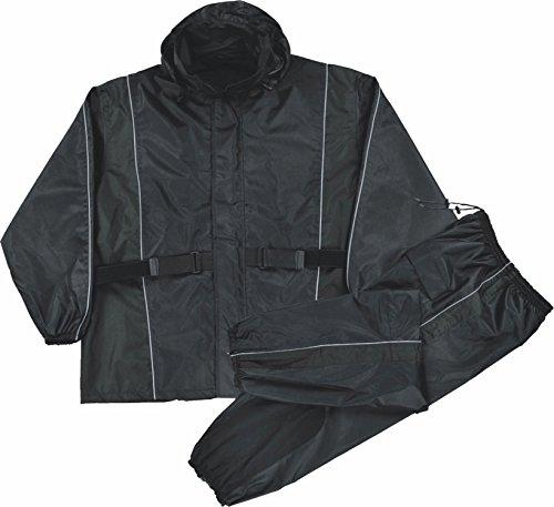 Womens Waterproof Rain Suit Reflective Piping / Heat Guard