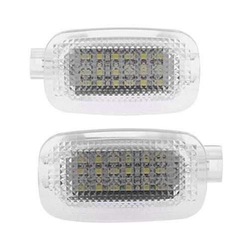 Car Courtesy Lights2pcs Car LED Courtesy Lamp Trunk Luggage Lights for Mercedes Benz W204 W216