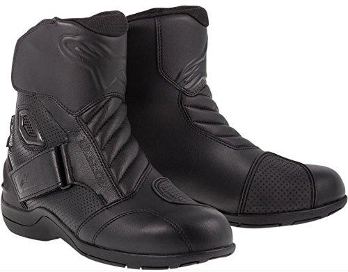 Alpinestars Gunner Waterproof Mens Street Motorcycle Boots Black EU Size 43