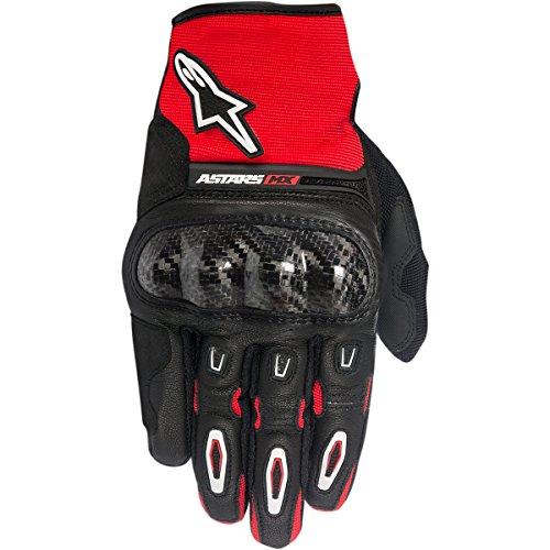 Alpinestars Megawatt Mens Street Motorcycle Gloves - BlackRedWhite  Large