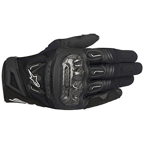 Alpinestars SMX-2 AC V2 Mens Street Motorcycle Gloves - Black  Medium