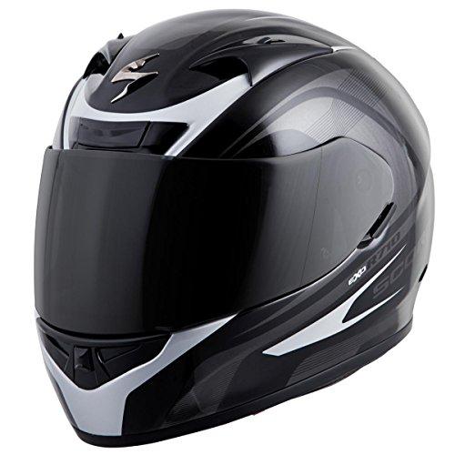 Scorpion EXO-R710 Focus Street Motorcycle Helmet Silver XXX-Large