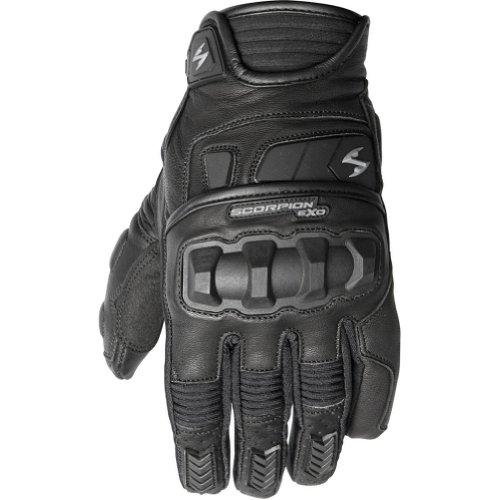 Scorpion Klaw II Mens Leather Street Motorcycle Gloves - Black  Large