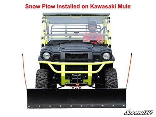 Complete Kit Kawasaki Mule PRO-FXT 52 Plow Pro Heavy Duty Snow Plow