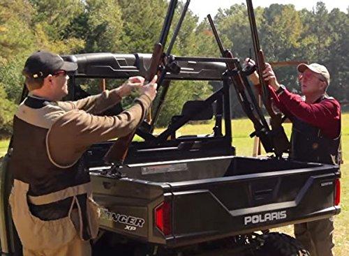 Kawasaki Mule Pro-FXT 2016 Sporting Clays UTV Gun Rack for Your Cargo Bed