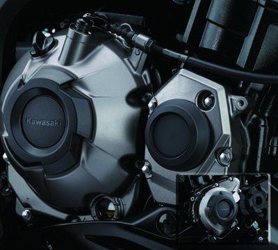 2014-2016 KAWASAKI Z1000 ENGINE SLIDER BLACK 99994-0399