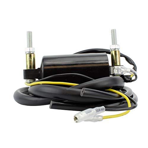 External Ignition Coil 43 Ohms For Suzuki GS 25045075085010001100 GSXR 7501100 1979-2007 OEM Repl 33410-17C00 33410-17C01 5LV-82310-00-00 33410-45021 4FM-82320-01-00 5DM-82310-00-00