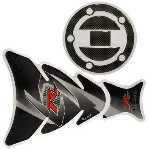 XFMT Motorcycles Black Fuel Tank Cap Sticker Decal Protector For Suzuki GSXR1000 2003 2004 2005 2006 2007 2008 2009 2010