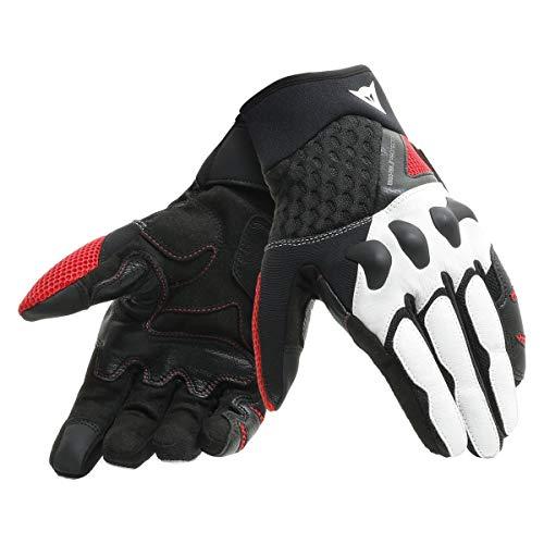 Dainese X-Moto Gloves BlackWhiteLava Red XXXL