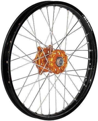 2003 KTM 125 EXC Complete Rear Wheel - Orange Talon HubBlack DID Dirtstar Rim - 215x19 Manufacturer QTMBrembo OffroadATV TALON WHEEL ASSY
