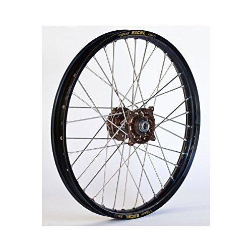 Dubya 56-3131MB Complete Front Wheel - Magnesium Talon HubBlack Excel Takasago Rim - 160x20 20