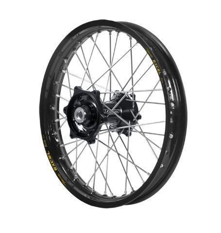 Dubya 56-3162BB Complete Front Wheel - Black Talon HubBlack Excel Takasago Rim - 140x17 17