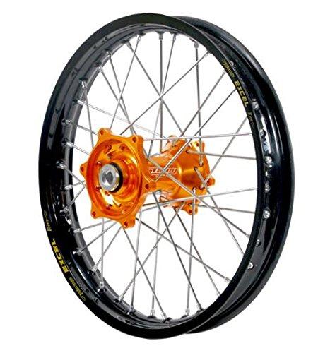 Dubya 56-3186OB Complete Rear Wheel - Orange Talon HubBlack Excel Takasago Rim - 160x12 12