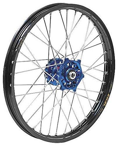 Dubya 56-4142DB Complete Front Wheel - Dark Blue Talon HubBlack DID Dirtstar Rim - 140x19 19