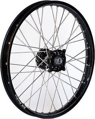 Dubya 56-4183BB Complete Rear Wheel - Black Talon HubBlack DID Dirtstar Rim - 185x16 16