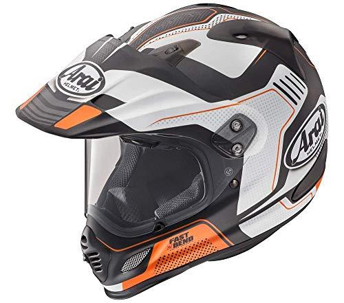 Arai XD4 Vision Dual Sport Helmet Orange Frost MD
