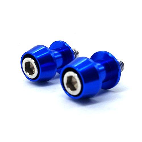 Blue CNC Motorcycle Swingarm Spool Slider Bobbin 8MM For Suzuki GSXR600750100011001300 GSX650750F GSF12501250S SV650S SV1000S TL1000RS DL6501000
