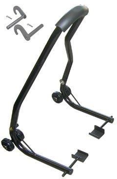 Motorcycle Swingarm Stand Swing Arm Bike Paddock Black