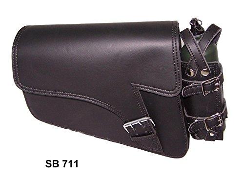 Motorcycle swingarm bag for harley sportster 1983 to 2004