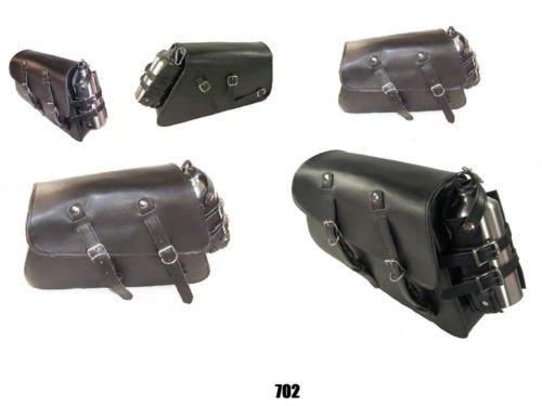 Motorcycle swingarm side bag for harley XL 883 N iron