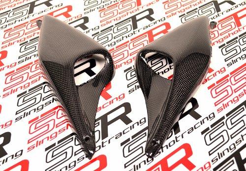 Ducati Carbon Fiber Side Air Ram Vent Panel Covers Monster 600 750 900 620 695 1000