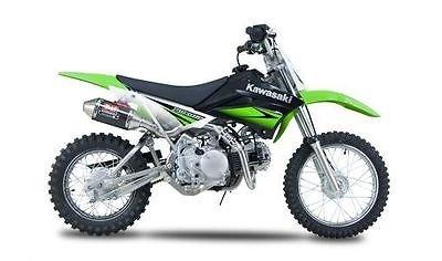 Yoshimura Rs-2 Carbon Fiber Exhaust Muffler For Kawasaki Klx110 Drz110