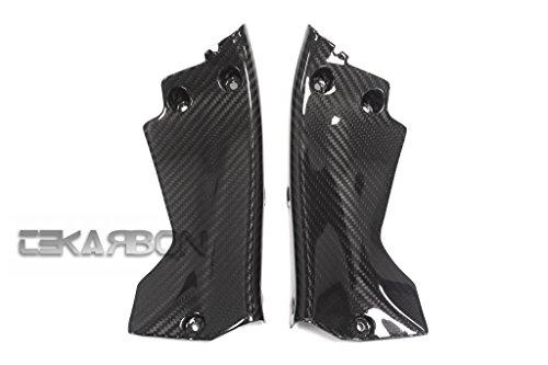 2008 - 2011 Honda CBR1000RR Carbon Fiber Front Side Panels - Twill
