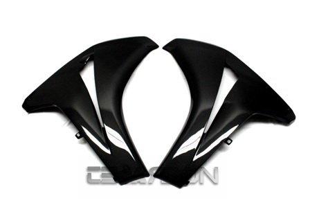2008 - 2011 Honda CBR1000RR Carbon Fiber Large Side Fairing