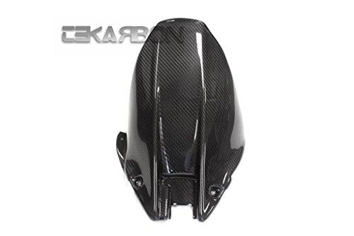 2008 - 2011 Honda CBR1000RR Carbon Fiber Rear Hugger Long - Twill