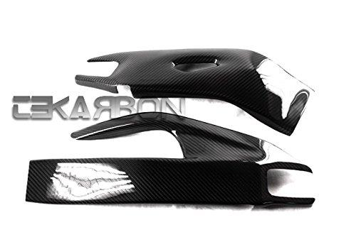 2008 - 2011 Honda CBR1000RR Carbon Fiber Swingarm Cover - Twill