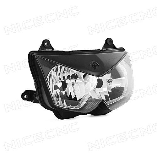 NICECNC Headlight Head light Headlamp for Kawasaki KLE500KLE500B 2005-2007 Ninja 650R ER-6F 2006-2008 Z1000 03-06 Ninja 250R 08-12