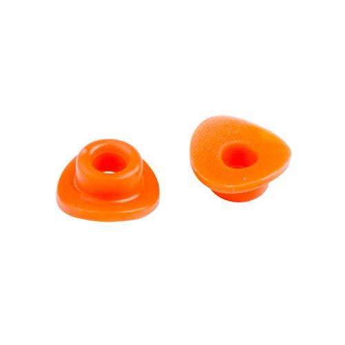 Rubber Valve SupportSeal Orange for Yamaha TY80 1974-1975