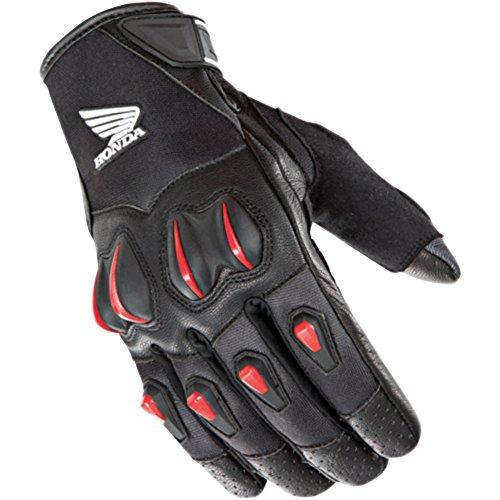 Joe Rocket Cyntek Honda Mens Mesh On-Road Motorcycle Leather Gloves - BlackRed  X-Large