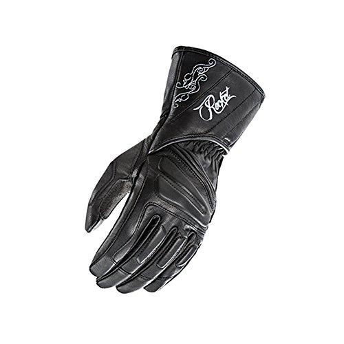 Joe Rocket Pro Street Womens On-Road Motorcycle Leather Gloves - Black  Small