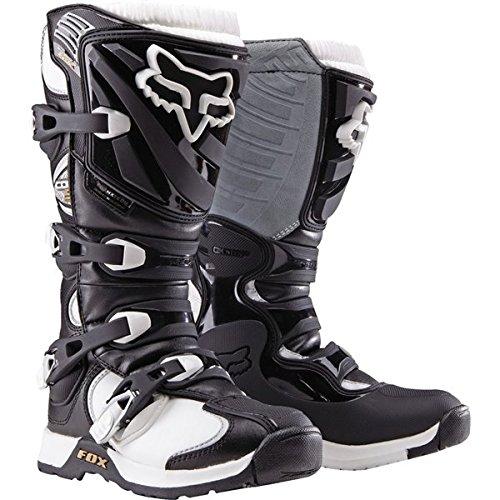 BlackWhite Sz 5 Fox Racing Comp 5 Womens Boots Motocross Boots