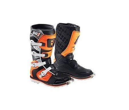 Gaerne 2016 Gaerne SG-J Kids Motocross Boots Black Orange MX KTM SIZE 6