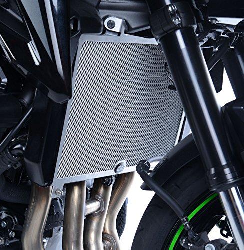 R&G Radiator Guard for Kawasaki Z900 17-18  Titanium Finish