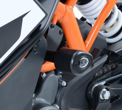 R&G Aero no-cut Frame Sliders KTM RC125200390