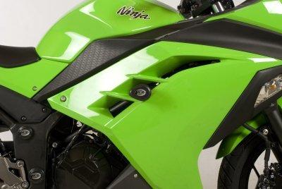 R&G Aero style Frame Sliders Kawasaki Ninja 300  250 13