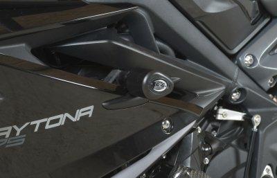 R&G Aero style Frame Sliders ROAD VERSION Triumph 675 Daytona 13-