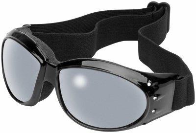 River Road Eliminator Goggles - BlackMirror