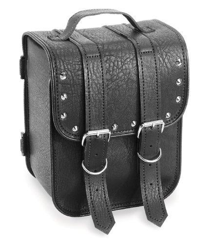 River Road Sissy Bar Bag Studded Black One Size