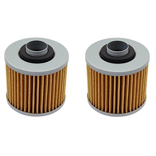 Cyleto Oil Filter for YAMAHA XTZ660 TENERE 660 1991-1999  XT660Z TENERE 660 2008-2013  XTZ750 SUPER TENERE 750 1989-1997  Pack of 2