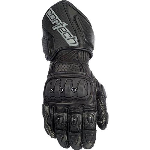 Cortech Impulse Rr Adult Textile Street Bike Motorcycle Gloves - Black/black / 2x-large