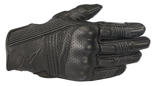 Alpinestars Mustang v2 Leather Motorcycle Street Riding Glove 2XL Black Black