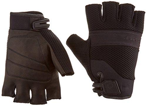 Joe Rocket Vento Mens Fingerless Motorcycle Riding Gloves Black XX-Large
