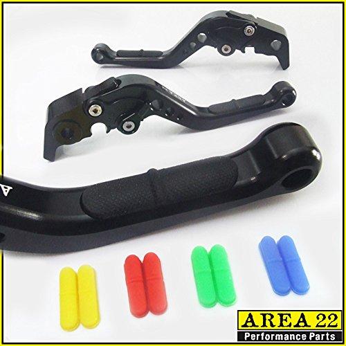 AREA 22 ANTI-SLIP BLACK ADJUSTABLE LEVERS FOR KTM 690 Duke R 2014-2016