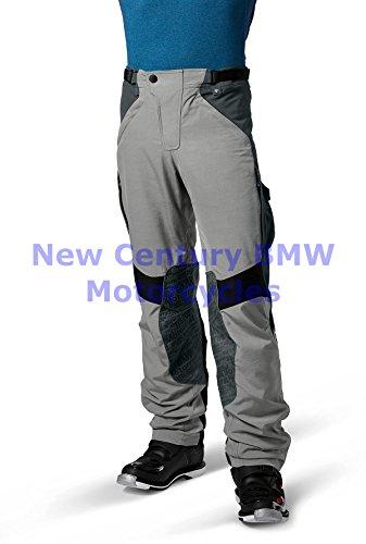 BMW Genuine Motorcycle Men Rallye Riding Pants GreyBlue US 52 Euro 62
