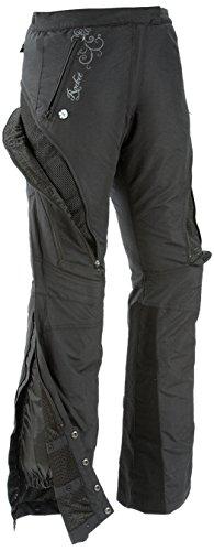 Joe Rocket Alter Ego Womens Motorcycle Riding Pants Black Large
