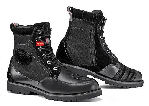 Sidi Arcadia Tex Motorcycle Boots Black US85EU42 More Size Options
